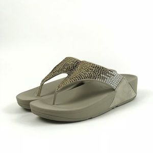 d8d6aa05fe12 Fitflop Shoes - Fitflop Womens Flare Pebble Thong Sandal Size 8 M